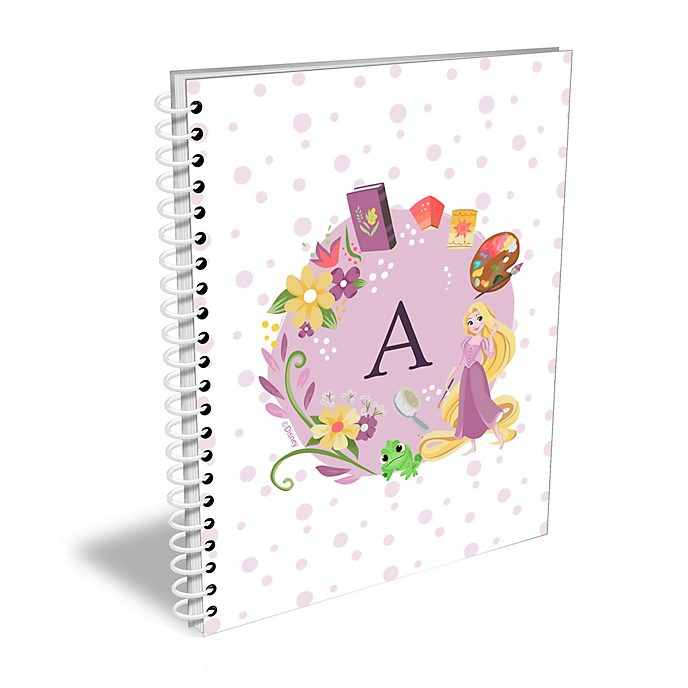 Disney Store Rapunzel Personalised A5 Notebook