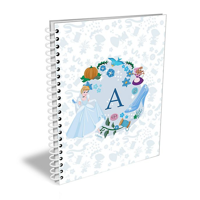 Disney Store Cinderella Personalised A5 Notebook
