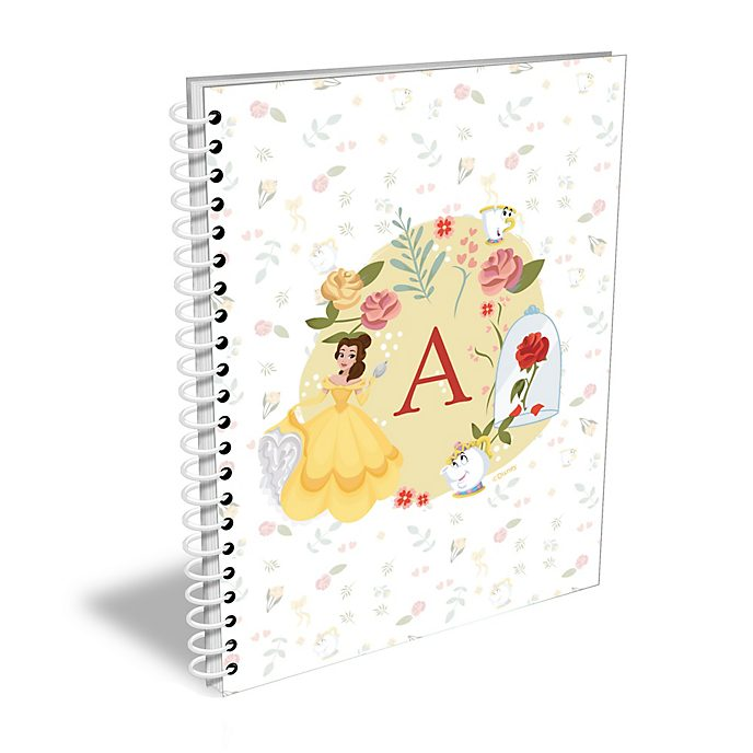 Disney Store Belle Personalised A5 Notebook