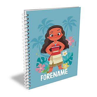 Disney Store Moana Personalised A4 Notebook