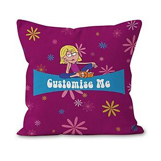 Lizzie McGuire Personalised Flowers Cushion
