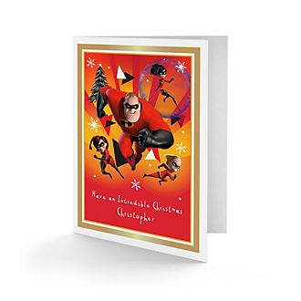 Incredibles Personalised Greeting Card