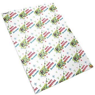 Buzz Lightyear Personalised Christmas Gift Wrap