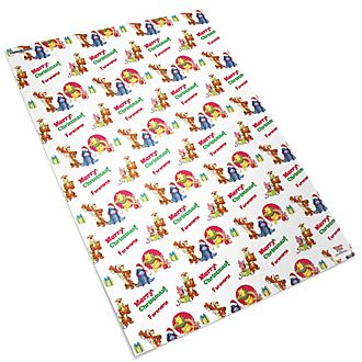 Winnie the Pooh and Friends Personalised Gift Wrap