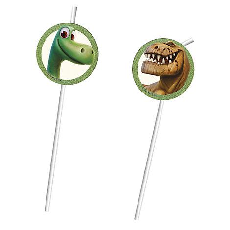The Good Dinosaur 6x Bendy Straws Set