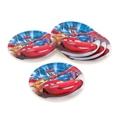 Disney Pixar Cars, 8 piatti di carta