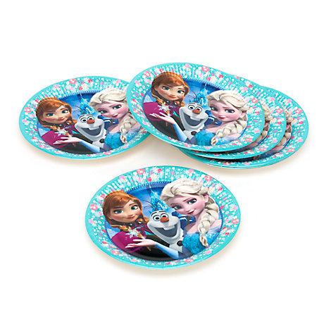 Frozen - Il Regno di Ghiaccio, 8 piatti di carta