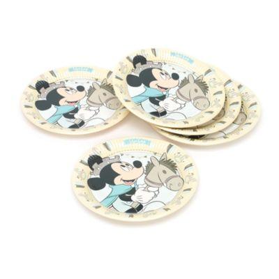 Platos fiesta Mickey príncipe (8 u.)