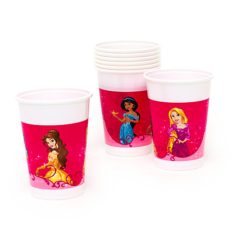 Ensemble de 8 gobelets de fête Princesses Disney