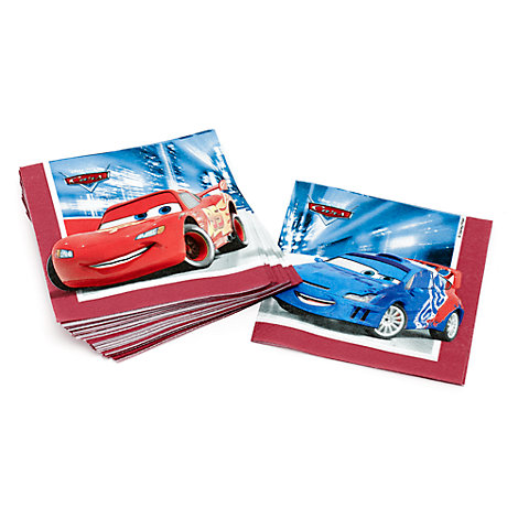 Disney Pixar Cars 20x Party Napkins