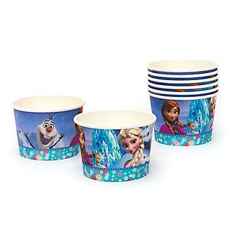 Lot de 8 pots à friandises La Reine des Neiges
