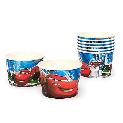 Lot de 8 pots à friandises Disney Pixar Cars