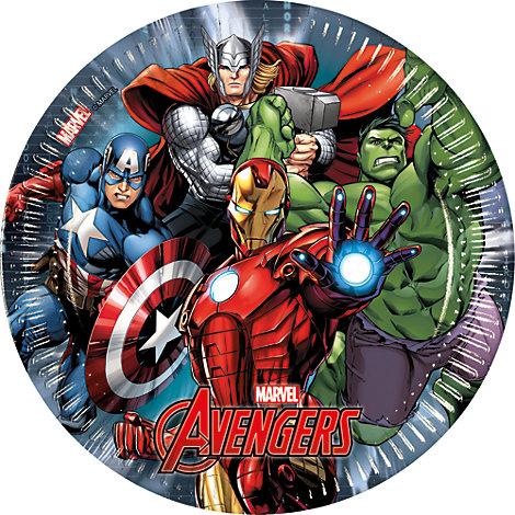 Avengers 8x Party Plates