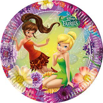Disney Fairies 8x Party Plate Set