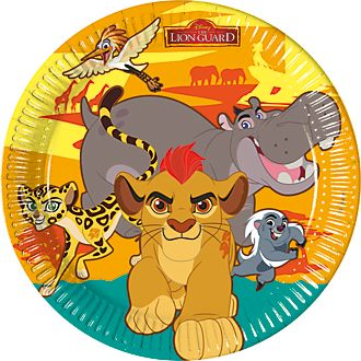 The Lion Guard, 8 piatti di carta