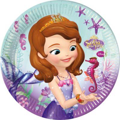 Platos fiesta Princesa Sofía (8 u.)