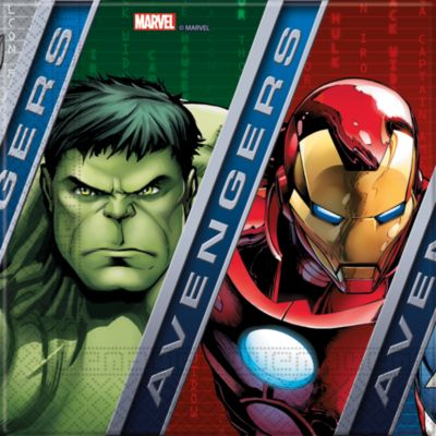 Avengers, 20 tovaglioli di carta