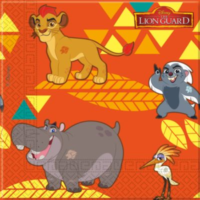 Die Garde der Löwen - 20 x Partyservietten