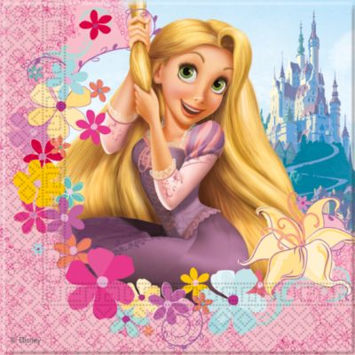 Rapunzel 20x festservietter