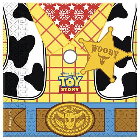 Lot de 20 serviettes de fête Toy Story