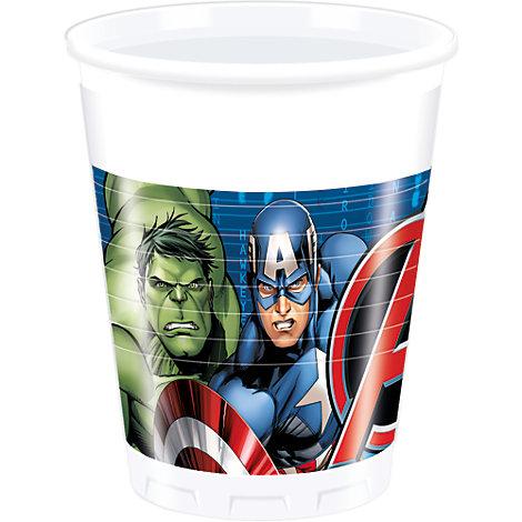 Avengers, 8 bicchieri di plastica
