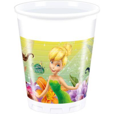 Disney Fairies, 8 bicchieri di plastica