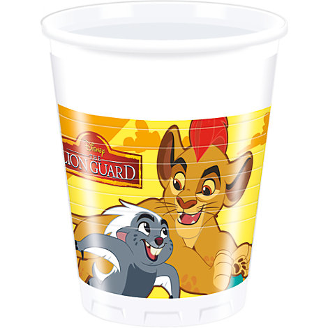 The Lion Guard, 8 bicchieri di plastica