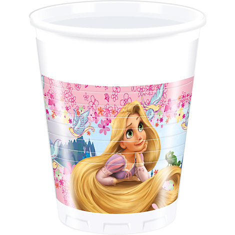 Rapunzel 8x Party Cup Set