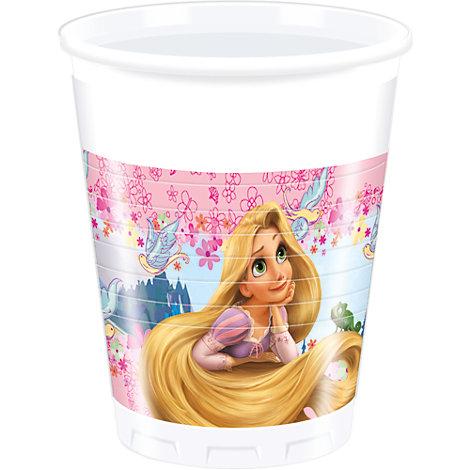 Vasos fiesta Rapunzel (8 u.)