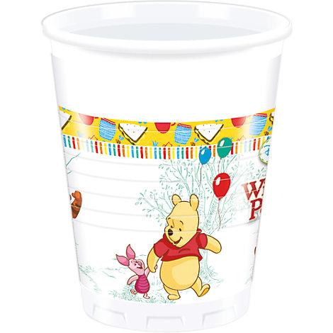 Winnie the Pooh, 8 bicchieri di plastica