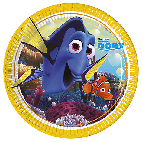 Finding Dory 8x Party Plates Set
