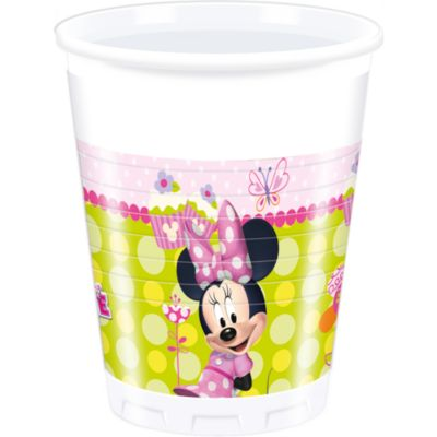 Lot de 8 gobelets de fête Minnie Mouse