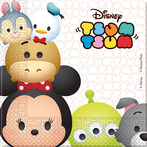 Tsum Tsum 20x Party Napkin Pack