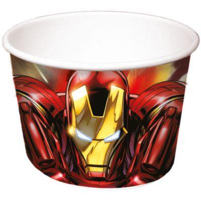 8 pots à friandises Avengers