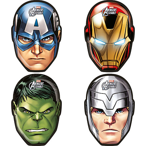 Assiettes en forme de personnages Avengers