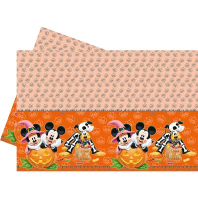 Mickey and Minnie Mouse Halloween Table Cover