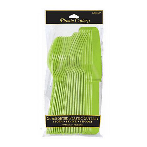 Grønt 24x bestik