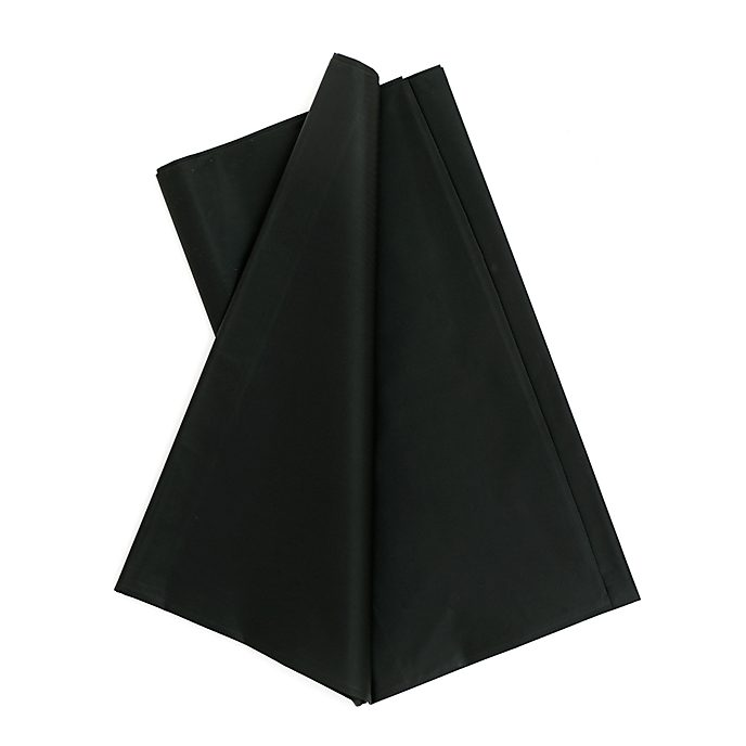 Black Party Table Cover