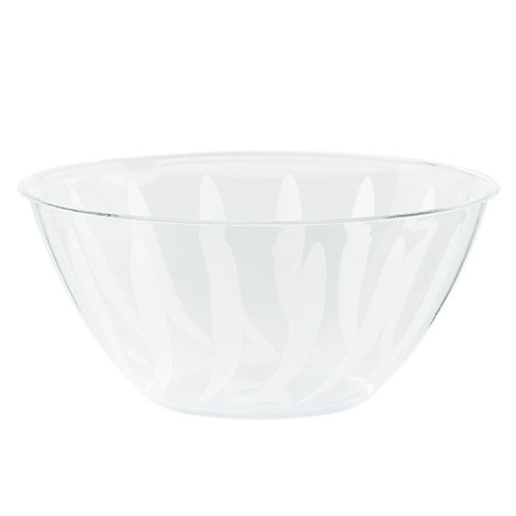 Clear Serving Bowl