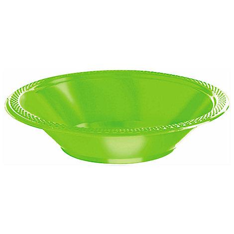 Partyskålar 20x, gröna