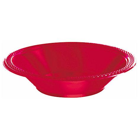 Røde 20x festskåle