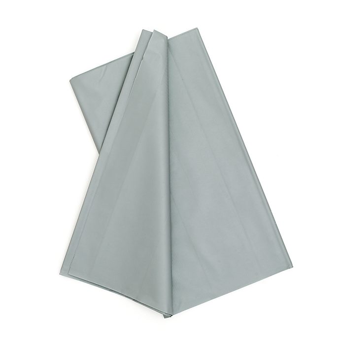 Silver Party Table Cover