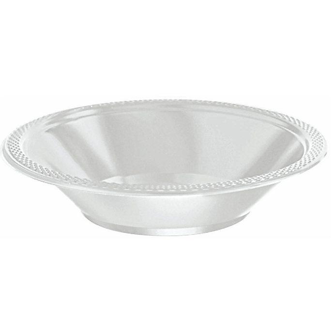 Silver Party Bowls 20 Piece Set