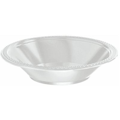 Silver Party Bowls 20 Piece Set