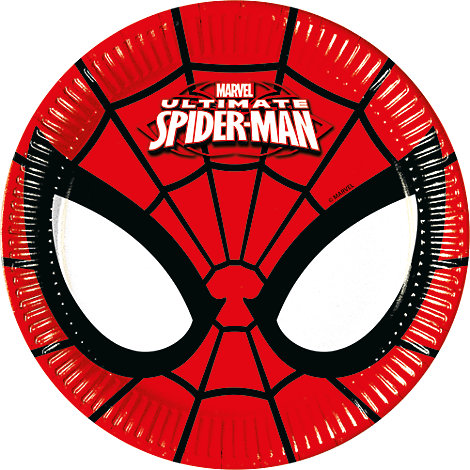 Spider-Man 8x Small Party Plates