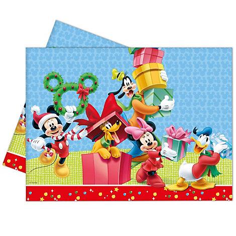 Topolino, tovaglia natalizia