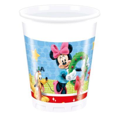 8 gobelets de fête de Noël Mickey Mouse