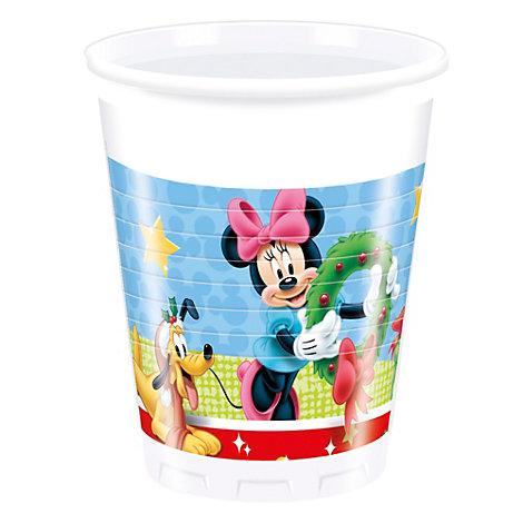 Vasos fiesta Navidad Mickey Mouse