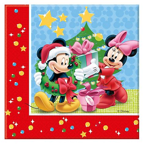 Topolino, 20 tovaglioli di carta natalizi