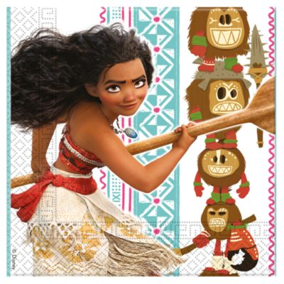 Moana 20x Party Napkin Pack